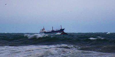 Bartın'da Yük Gemisi Battı
