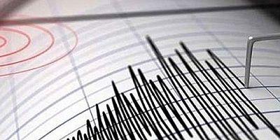 Ege'de 5.3 büyüklüğünde deprem