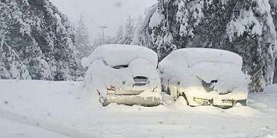 İsviçre'de Eylül ayında kar sürprizi