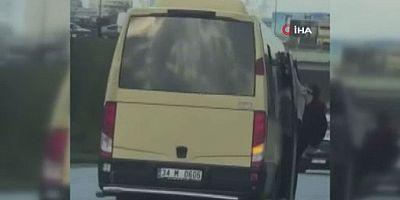 Minibüs şoförüne 3 bin 469 TL para cezası