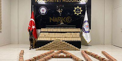 Van'da 223 kilo 948 gram eroin ele geçirildi