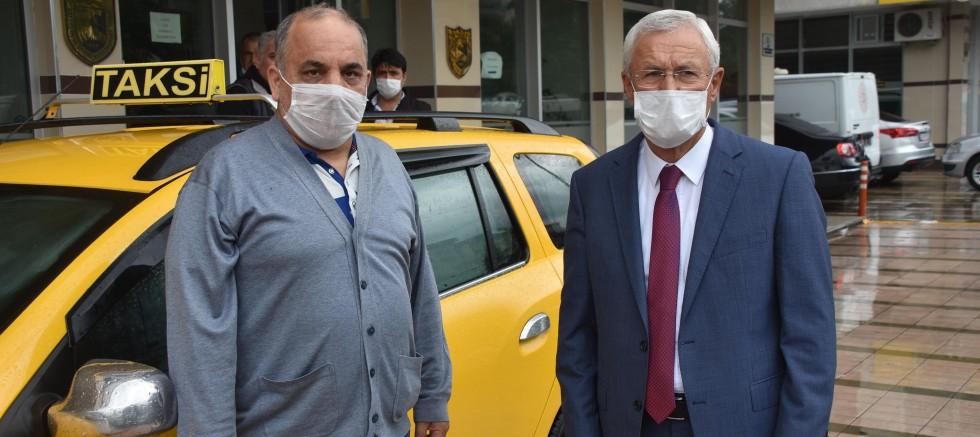 Taksiciye 31 lira bahşiş verdi
