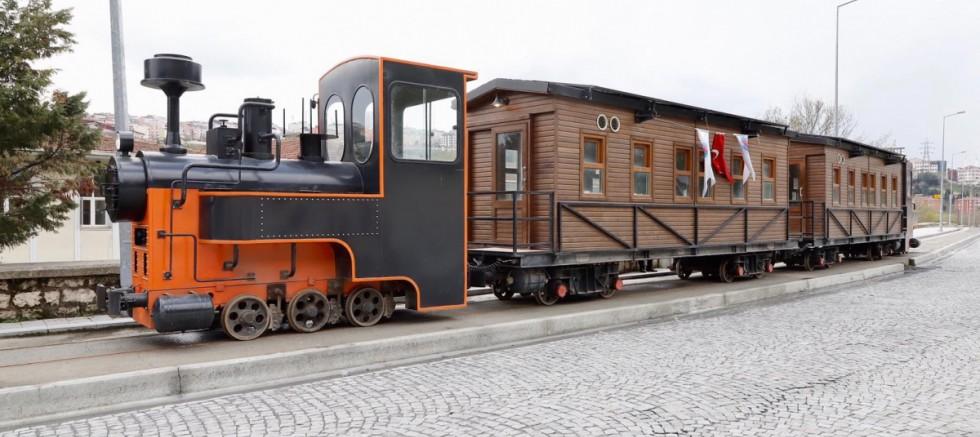 Tarihi Kağıthane Treni ağustosta raylarda