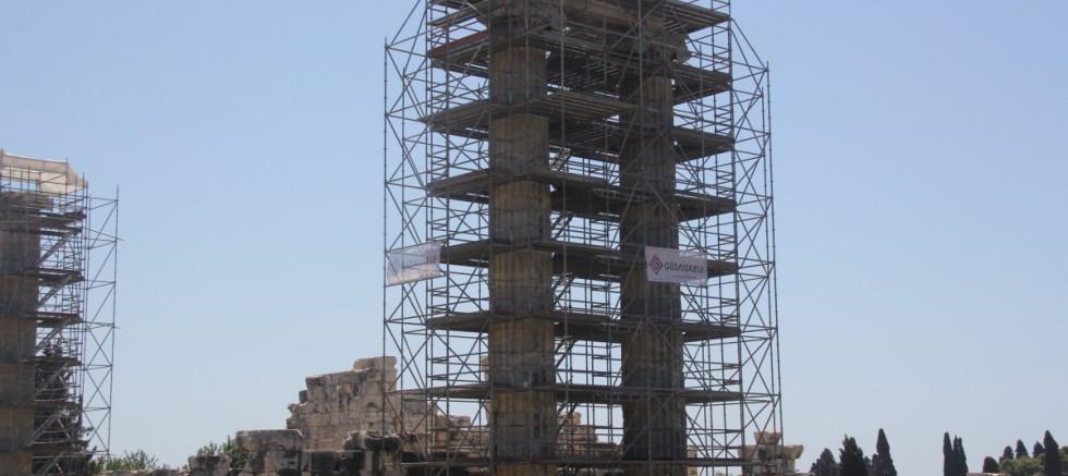 Tarihi tapınakta 2300 yıl sonra bir ilk yaşanacak