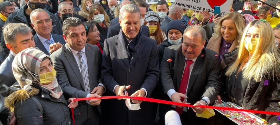 Mustafa Sarıgül'ün katılımlarıyla İktidara Hazırlık Merkezi açıldı