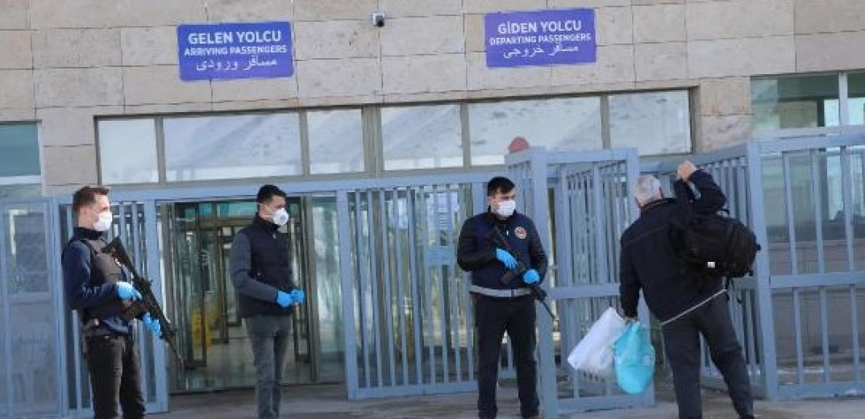 5 ilde sınır kapıları kapatıldı