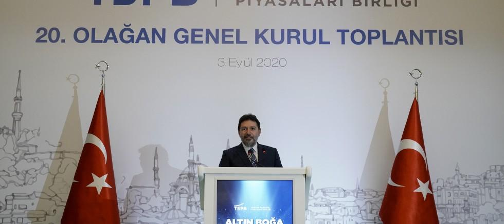 Türkiye Sermaye Piyasaları Birliği 20. Olağan Genel Kurulu yapıldı