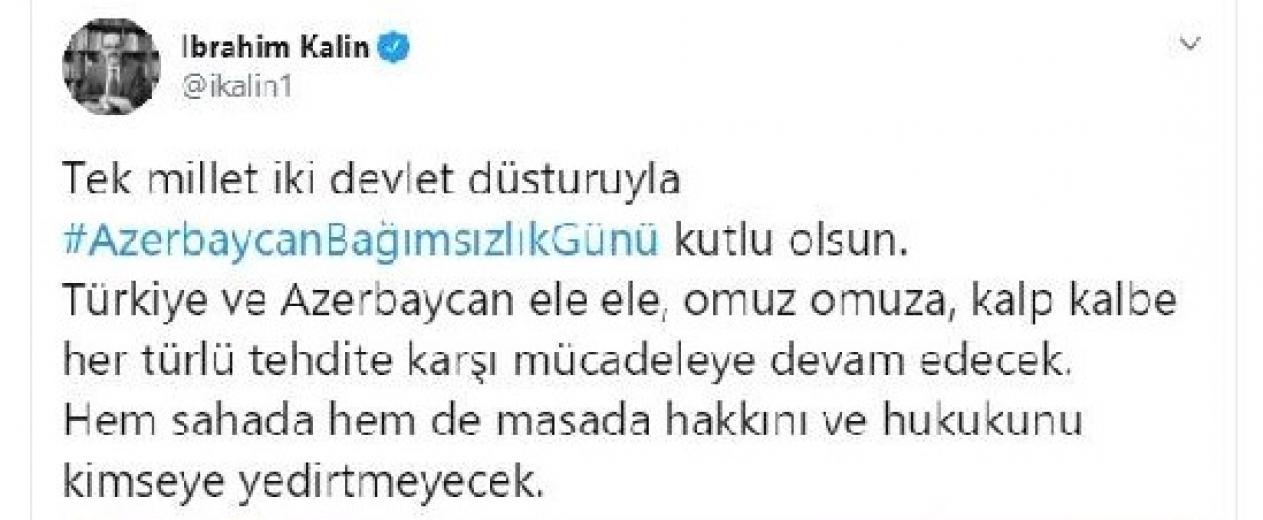 Türkiye ve Azerbaycan her zorluğa karşı el ele