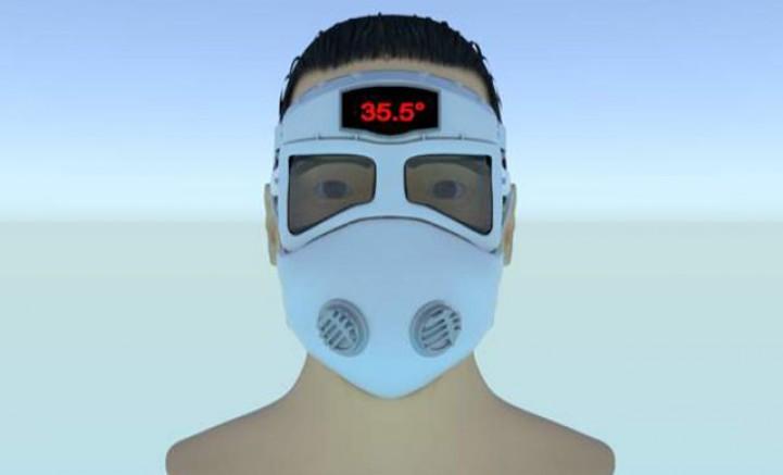 Van'da akıllı maske tasarladılar