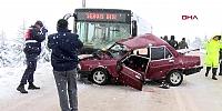Genç sürücü ve avukat arkadaşı öldü